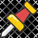 Thumbtack Push Pin Icon