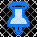 Push Pin Pin Find Icon