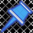 Push Pin Thumbtack Pin Icon