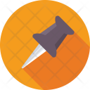 Push Pin Thumb Icon