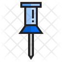 Push Pin Paper Pin Pin Icon
