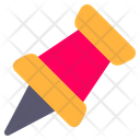 Push Pin Pin Office Material Icon