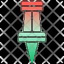 Push Pin Pin Paper Pin Icon