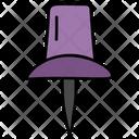 Pushpin Thumbtack Noticeboard Pin Icon