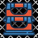 Pushup bars Icon