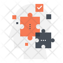 Puzzle Think Solution Icon