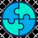 Strategy Teamwork Icon