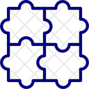 Puzzle Jigsaw Puzzle Icon