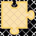 Puzzle Organization Seo Icon