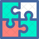 Puzzle Strategy Smart Icon