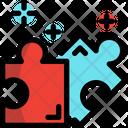 Puzzle Jigsaw Thinking Icon