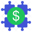 Puzzle Business Puzzle Business Solution Icon