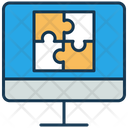 Online Quiz Puzzle Mind Game Icon