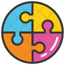 Togetherness Jigsaw Puzzle Icon