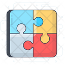 Jigsaw Puzzle Piece Mind Games Icon