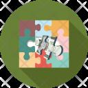 Puzzle Money Mindgame Icon