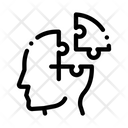 Puzzle Detail Man Icon