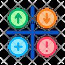 Puzzle Square Jigsaw Icon