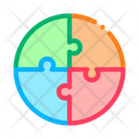 Puzzle Blank Business Icon