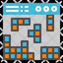 Tetris Puzzle Block Icon