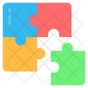 Puzzle Puzzle Piece Solution Icon
