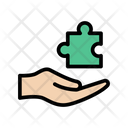 Solution Puzzle Jigsaw Icon