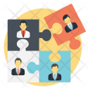 Social Connection Cooperation Icon