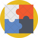 Puzzle Pieces Jigsaw Icon