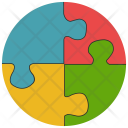 Puzzle Pieces Strategy Icon