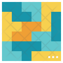 Puzzle Organizing Logic Icon