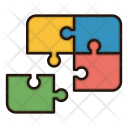 Jigsaw Puzzle Contact Icon