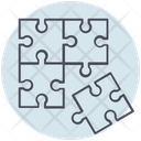 Business Puzzle Strategy Icon
