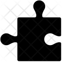Puzzle Piece Element Icon