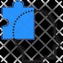 Puzzle Head Problem Icon