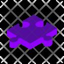 Puzzle Isometric Icon