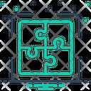 Puzzle Allied Complex Icon
