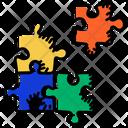 Puzzle Piece Puzzle Puzzle Game Icon