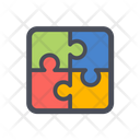 Puzzle Jigsaw Solution Icon