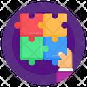 Jigsaw Puzzle Leisure Skills Icon
