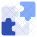 Puzzle Jigsaw Group Icon
