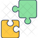 Jegsaw Puzzle Planning Icon