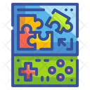 Puzzle Game Toy Icon