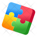 Jigsaw Puzzle Problem Solving Icon