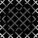 Puzzle Strategy Complex Icon