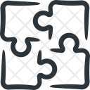 Puzzle Piece Strategy Icon