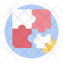 Puzzle Game Jigsaw Indoor Game Icon