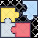 Puzzle Pieces Puzzle Strategy Icon