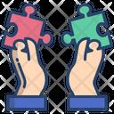 Puzzle Pieces Jigsaw Puzzle Icon