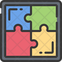 Puzzle solving Icon
