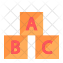 Baby Little Puzzle Toy Icon